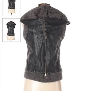 Miilla Faux Leather Vest
